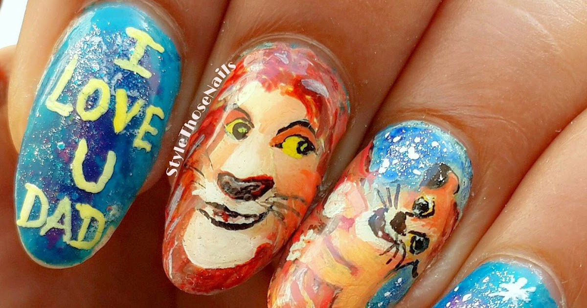 Style Those Nails: Happy Father\'s Day- A nailart inspired by The ...