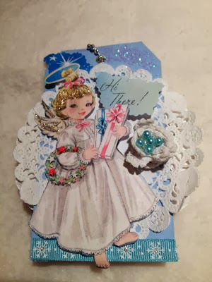 """Perfectly Printed"" blog White Christmas Tag Swap"