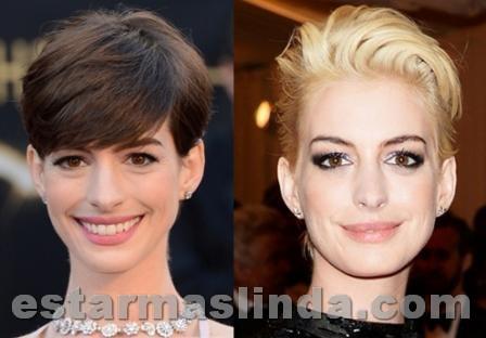 Anne Hathaway rubia
