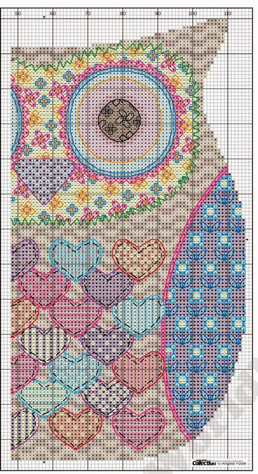 Cross Stitch Mania: Free Owl Cross Stitch Chart