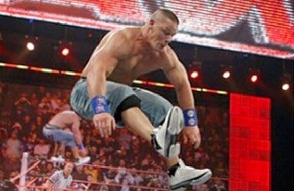 Celeb Sneaker Game Wwe John Cena Wearing Jordan 2009 S