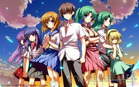 >Higurashi< :3
