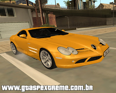 Mercedes-Benz SLR McLaren 2005 para grand theft auto