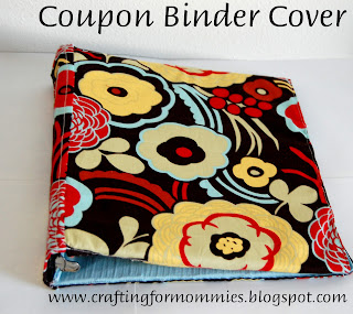coupon binder cover