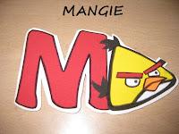 Imán angry birds amarillo y rojo