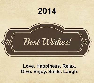 2014 – Happy New Year!
