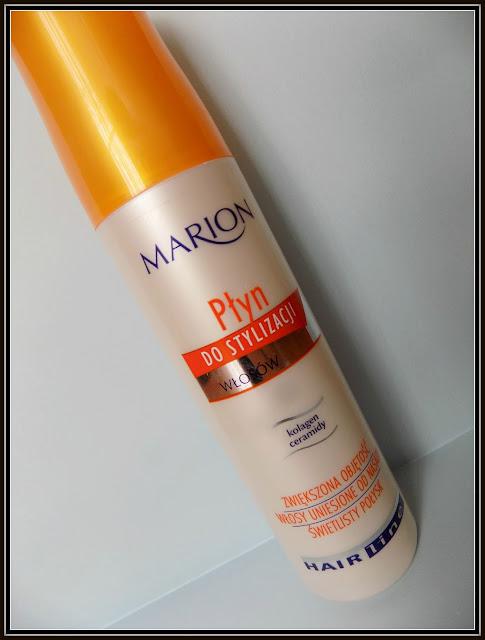 Jak nadać włosom objętości ? czyli recenzja płynu zwiększającego objętość Marion