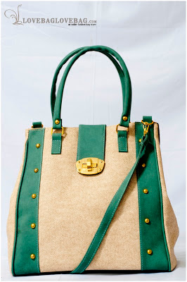 Jiana bag in Greyish Green