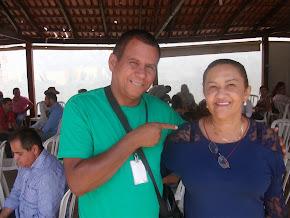 Rita corretora confirma  em reunião na casa de Messias que é sim pré candidata a prefeita 2016.