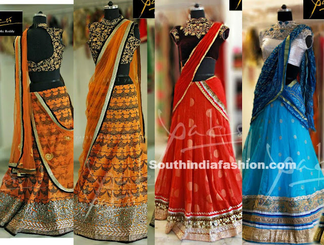 Half Saree Blouse Designs