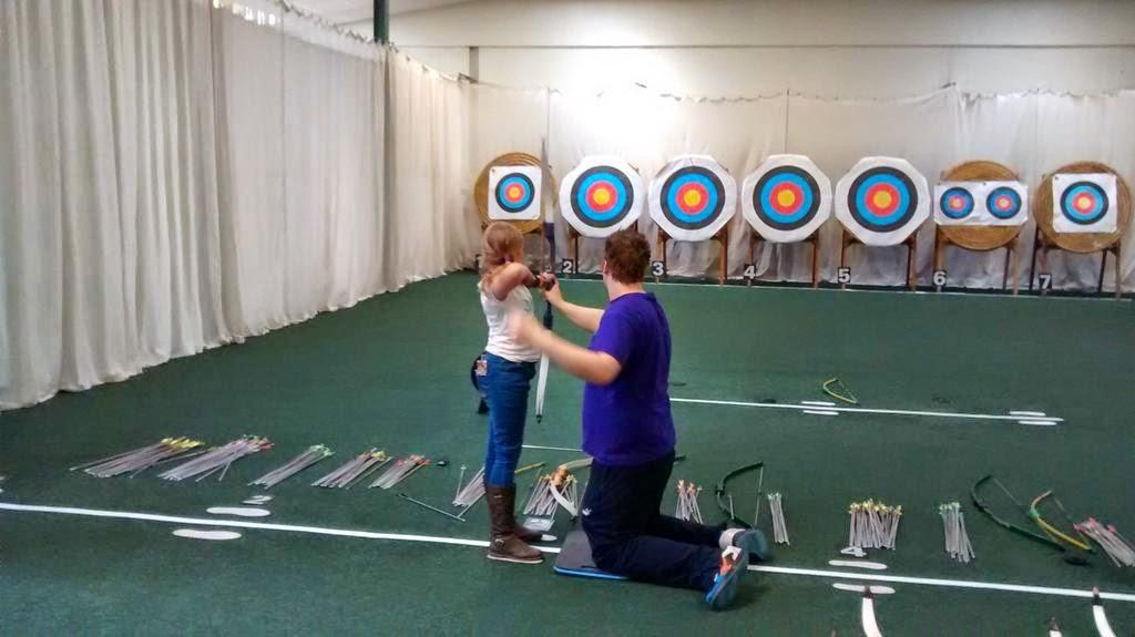 Me practising Archery