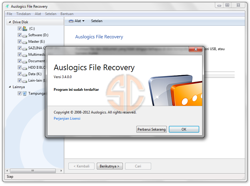 Auslogics File Recovery 3400 Multilingual