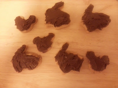 Homemade Chocolate Shapes