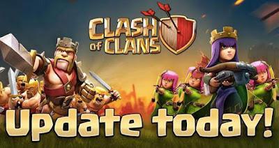 Clash of Clans actualización