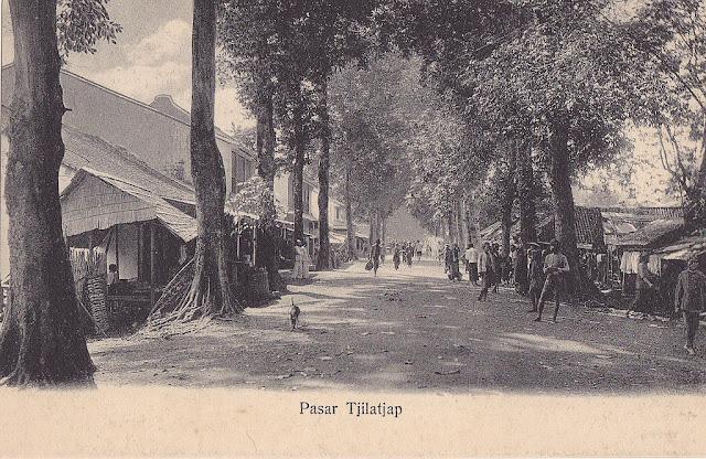 Cilacap, Market. 1917