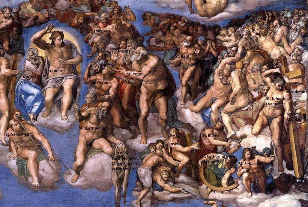 last judgment michelangelo essay Michelangelo's fresco the last judgment (1536-1541) is a piece that visualizes this idea since the time it was finished, this significant piece found in the.