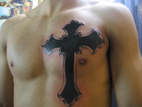 Tattoos back tattoos good cross tattoos on back 31