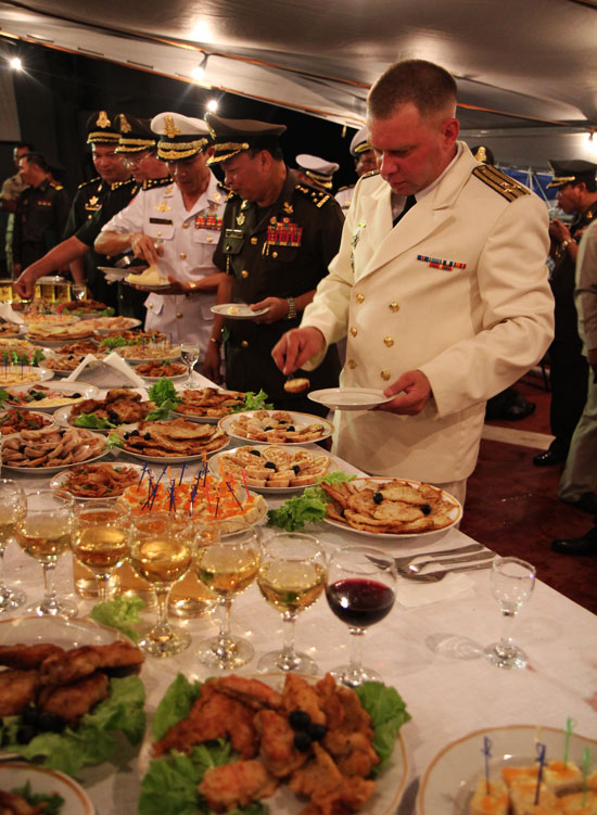 russianbuffet The Love Boat: Cambodian Russian Diplomacy