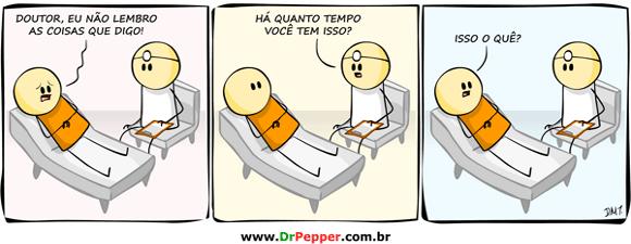 Dr. pepper bog o criador