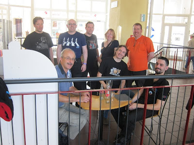 Essen Spiel 2012 Day 4 - The team gather for the return trip