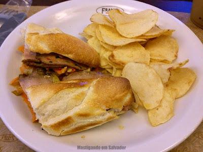 Fran's Café: Sanduíche Francês
