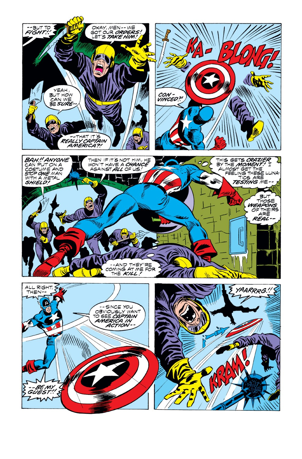 Captain America (1968) Issue #218 #132 - English 14