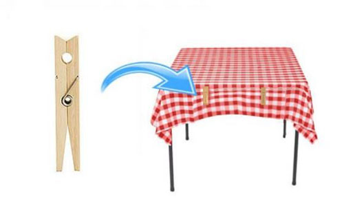 securing outdoor tablecloths 1