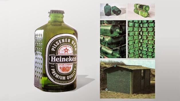 Heineken Cube, Botellas Cuadradas Ecoresponsables