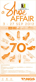 TANGS A Shoe Affair Sale 2012