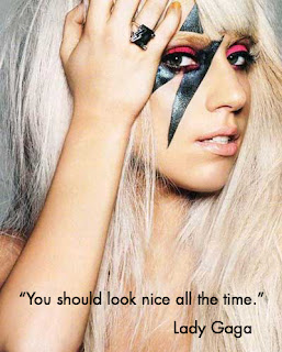 nice lady gaga quotation and wallpaper