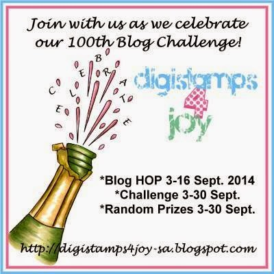 Digistamps4Joy 100th Challenge
