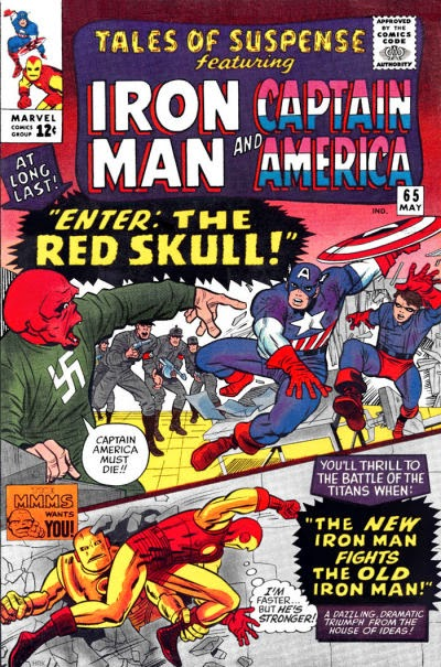 Tales of Suspense #65, Captain America and Iron Man
