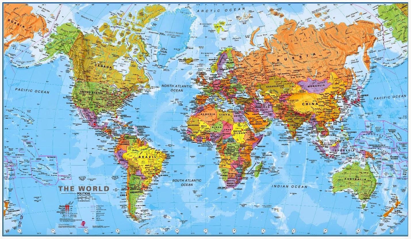 mapamundi con nombres