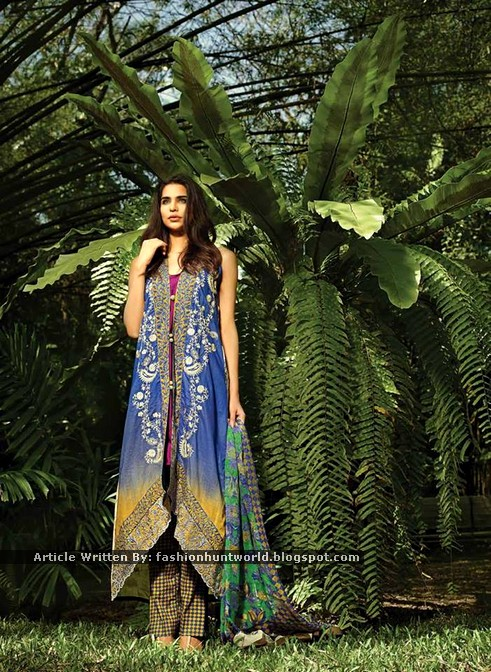SO Kamal Lawn 2015 By Ayesha Farooq Hashwani