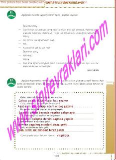 6.Sinif  Turkce Doku Yayinlari Ogrenci Calisma Kitabi Sayfa 101