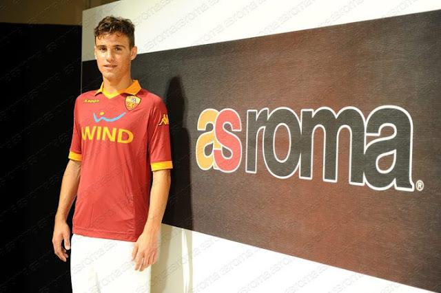 nuova maglia as roma