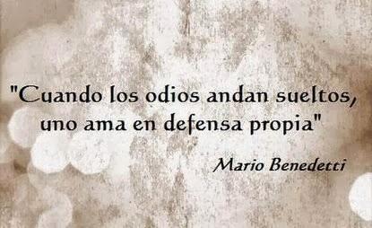 frases de Mario Benedetti.