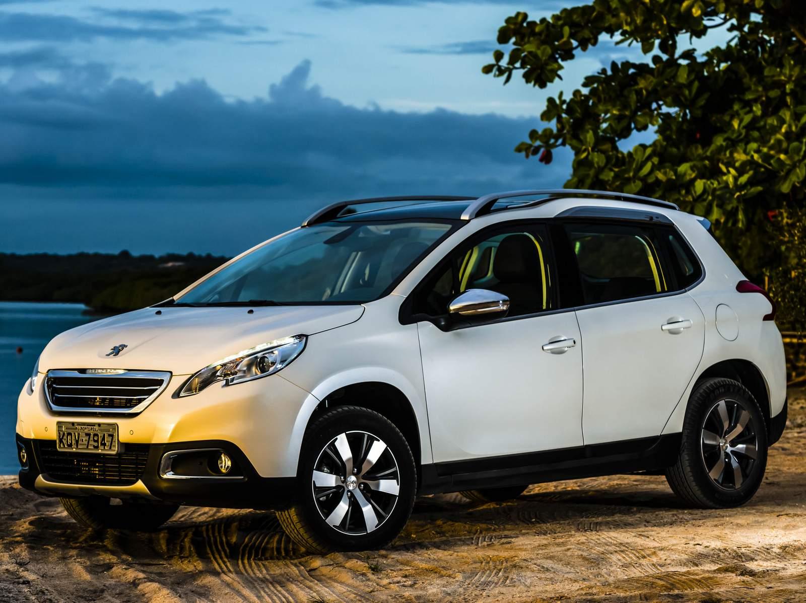 Peugeot 2008 no Brasil