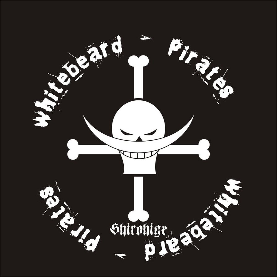 Whitebeard pirates symbol - photo#10