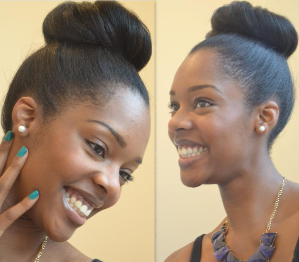 Relaxed To Natural Hair Transition Deep Conditioning