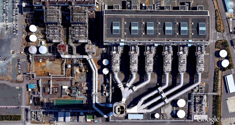 Shin-Nagoya Thermal Power Station Japan