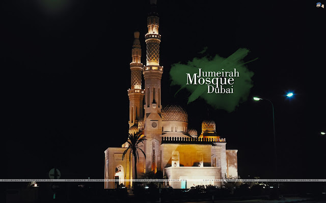 Dubai Jumeirah Mosque Wallpapers