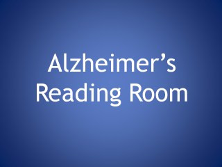 How To Use the Alzheimer's Reading Room Knowledge Base
