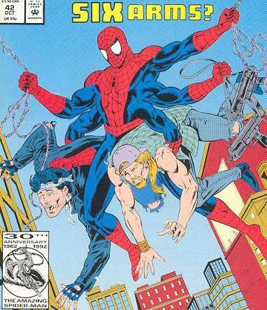 10 Kostum Spider-Man Terbaik Sepanjang Masa: Six-Armed Suit