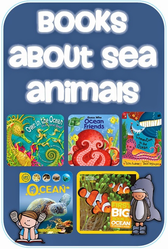 Books about Sea Animals Clever Classroom blog