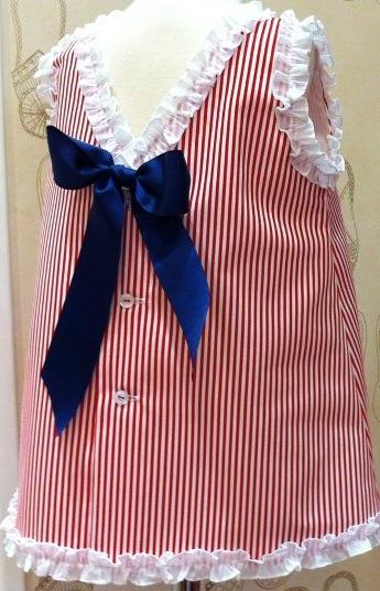 El rastrillo vestido verano marinero con lazo espalda la for Roca prada t
