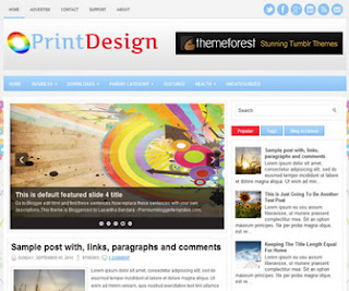 PrintDesign Blogger Template