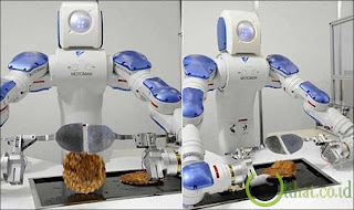 Robot yang Pandai Memasak Okonomiyaki