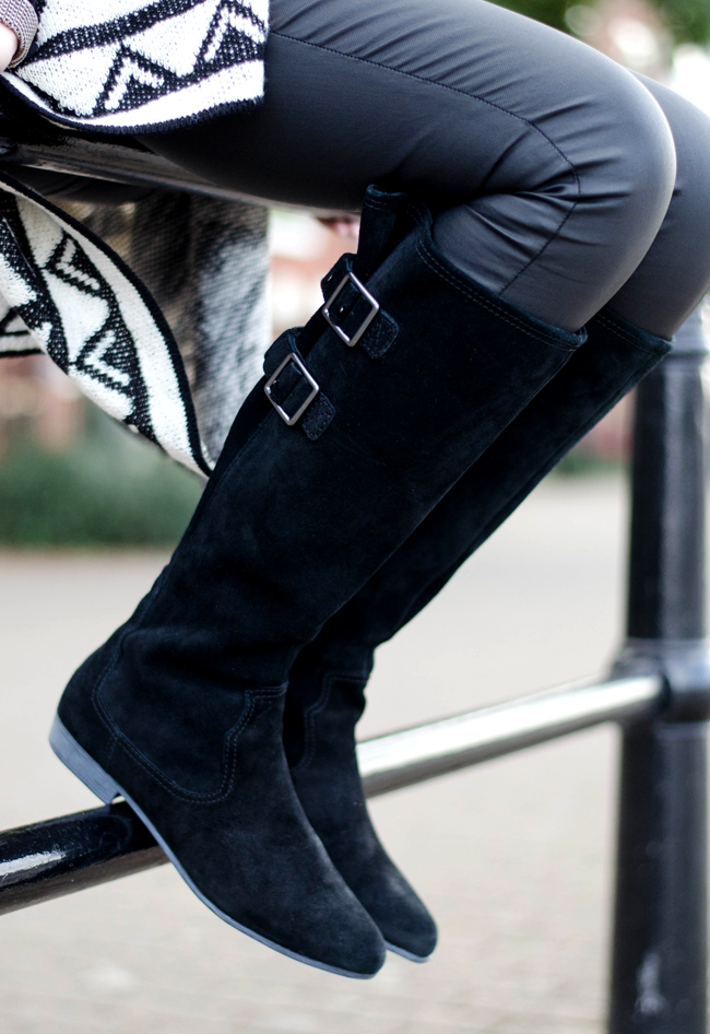 Clarks Likeable Me Knee Boots