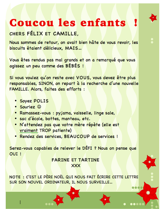 lutins de Noël Julie philippon